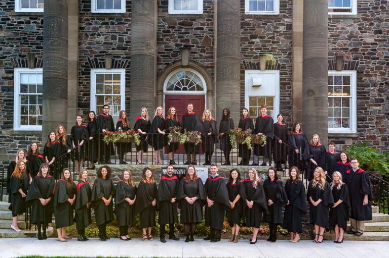 Dalhousie University Group Graduation photo at Dalhousie University Halifax