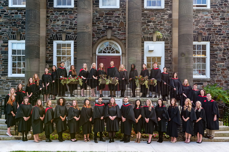 Graduation photo of Dalhousie University Group photo