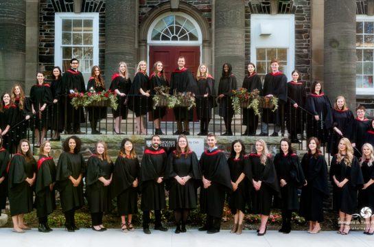 DAL Graduation group photo taken at Dalhousie University Halifax